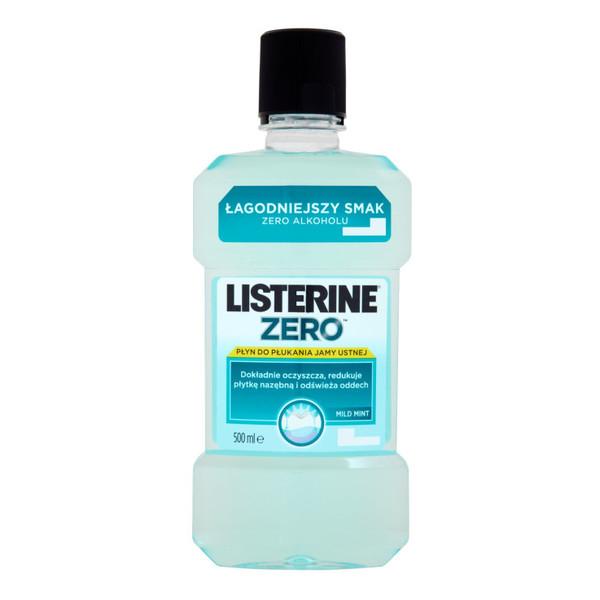Listerine ZERO PŁYN DO PŁUKANIA JAMY USTNEJ 500ml