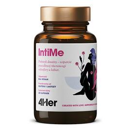 4her intime probiotyk doustny wsparcie prawidłowej równowagi mikroflory u kobiet suplement diety 30 kapsułek