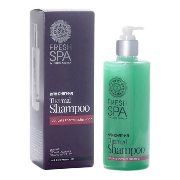 Natura Siberica Fresh Spa Thermal Shampoo Delikatny szampon termalny do włosów 300ml