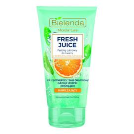 Pomarańcza nawilżający peeling cukrowy do twarzy