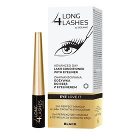 Eye Love It zaawansowana odżywka do rzęs z eyelinerem Black