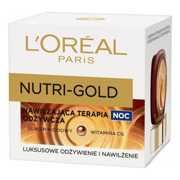 L'Oreal Nutri-Gold Nawilżająca Terapia Odżywcza Na Noc Krem Odżywczy 50ml