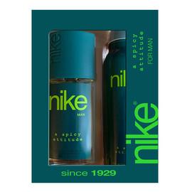 Zestaw prezentowy A Spicy Attitude for man dezodorant w szkle + dezodorant spray