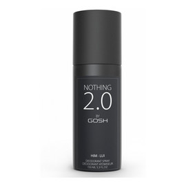 GOSH Nothing 2.0 Him Perfumed Deodorant Dezodorant dla mężczyzn spray