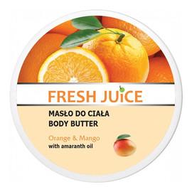 Masło Do Ciała Z Olejem Z Amarantusa O Zapachu Orange & Mango Pomarańcza & Mango