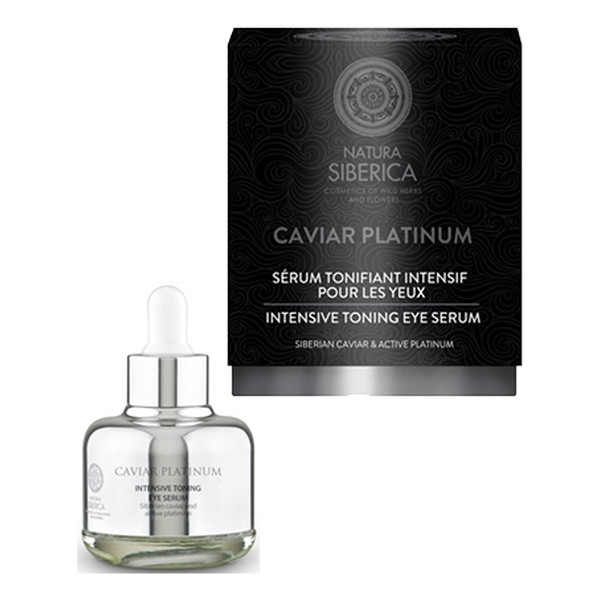 Natura Siberica caviar platinum Intensywnie tonizujące serum do oczu 30ml