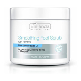 Foot program smoothing foot scrub wygładzający peeling do stóp z mentolem