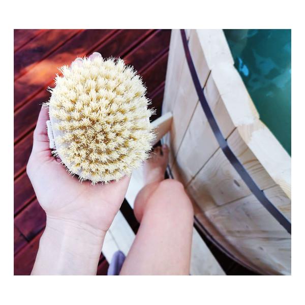 Lullalove Szczotka do masażu na sucho Tampico 2.0 Szczotkowanie ciała na sucho