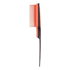 Back combing grzebień do włosów black coral