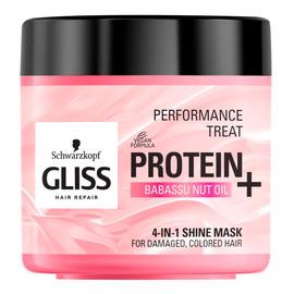 maska nabłyszczająca do włosów Protein + Babassu Nut Oil