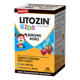 Kids zdrowe kości suplement diety 90 tabletek