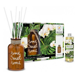 Zestaw patyczki zapachowe + wazon zielona herbata & limonka 400ml