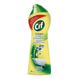 mleczko z mikrokryształkami do czyszczenia powierzchni Lemon