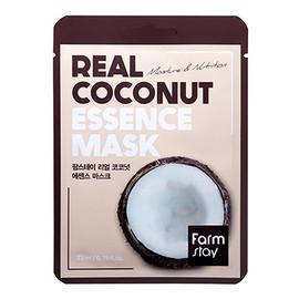 Farm Stay Real Coconut nawilżająca maseczka w płachcie z ekstraktem kokosa