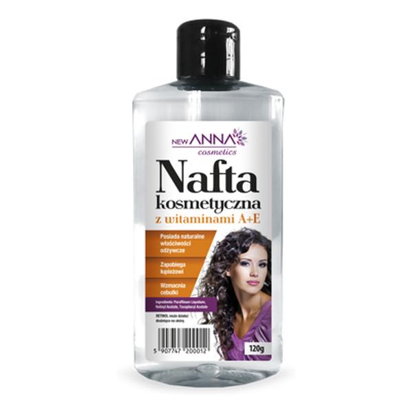 Anna Cosmetics Nafta Kosmetyczna z Witaminami A i E 120g