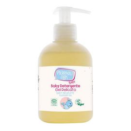 Żel oczyszczający do rąk i higieny intymnej dla niemowląt z ekstraktem owsa upraw ekologicznych