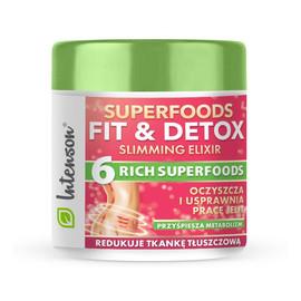 Superfoods fit & detox elixir koktajl błonnikowy suplement diety