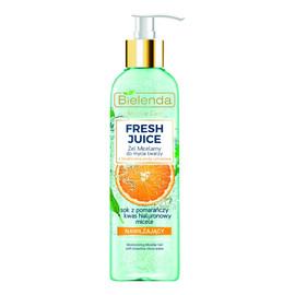 Nawilżający Żel Micelarny Do Mycia Twarzy Pomarańcza