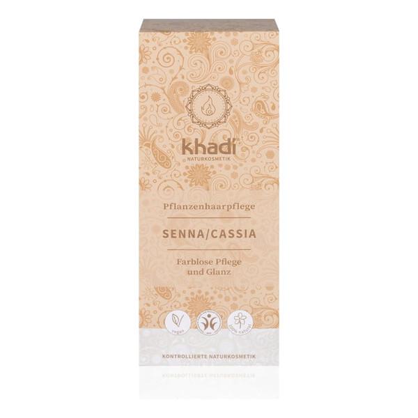 Khadi Naturalna Ziołowa Henna do Włosów Cassia Neutral Bezbarwna 100g