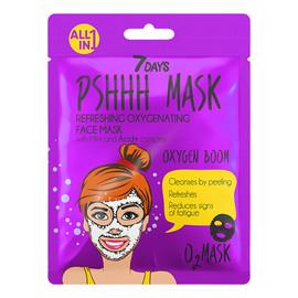 OXYGEN BOOM Odświeżająca maska do twarzy w płachcie z miętą