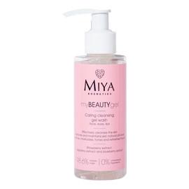 myBEAUTYgel pielęgnujący żel do mycia i oczyszczania twarzy