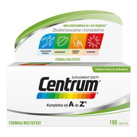 Zestaw witamin i minerałów suplement diety 100 tabletek