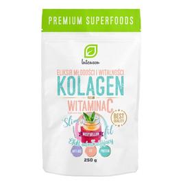 Kolagen + witamina c suplement diety efekt odmładzający 250g
