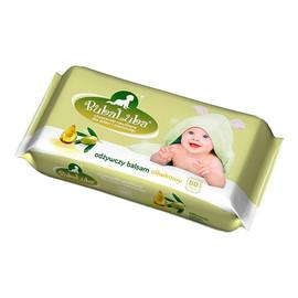 chusteczki nawilżane dla dzieci odżywczy balsam oliwkowy 60szt