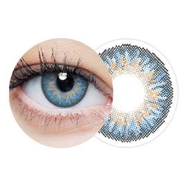 Clearcolor 1-day blue jednodniowe kolorowe soczewki kontaktowe fl333-2.50 10szt