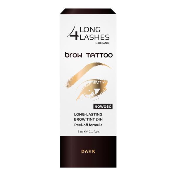 AA Long4Lashes Brow Tattoo Peel-off żel do brwi 24h 8ml