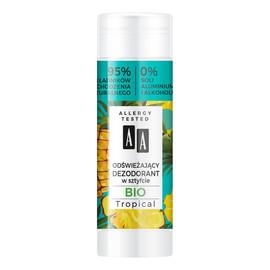 Super Fruits & Deo Stick odświeżający dezodorant w sztyfcie Gio Tropical