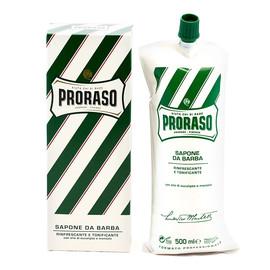 odświeżające mydło do golenia z olejkiem eukaliptusowym i mentolem