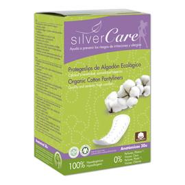 Wkładki higieniczne o anatomicznym kształcie 100% bawełny organicznej 30szt