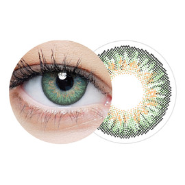 Clearcolor 1-day green jednodniowe kolorowe soczewki kontaktowe fl334-1.75 10szt