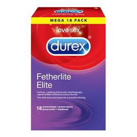 cieńsze prezerwatywy z wiekszą ilością żelu 18szt