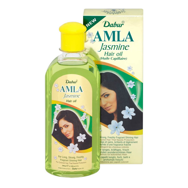 Dabur Jasmine Amla Olejek Do Włosów Jasnych 200ml