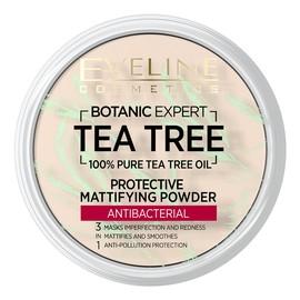 Tea Tree Antybakteryjny puder matujący i ochronny