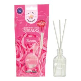 Olejek aromatyczny z patyczkami Róża