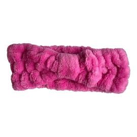 Opaska do włosów bez kokardy Różowa