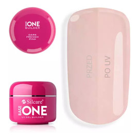 Gel Base One French Pink Dark żel budujący do paznokci