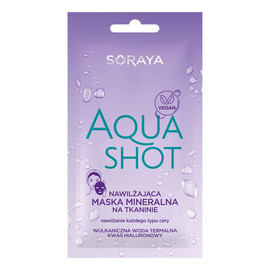Aqua Shot Nawilżająca Maska Mineralna w Płachcie
