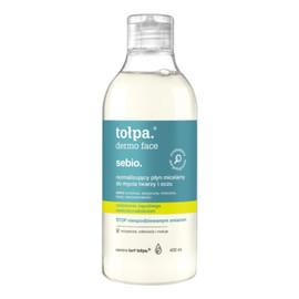 Sebio normalizujący płyn micelarny do mycia twarzy
