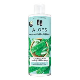 Aloes 100% aloe vera extract płyn micelarny łagodząco-nawilżający