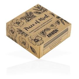 Peace of Mint szampon w kostce do skóry normalnej i skłonnej do przetłuszczania się Mięta + puszka