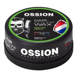 Ossion personal care hair styling wax wosk do stylizacji włosów matte hold