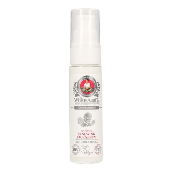 Bania Agafii White Agafia Naturalne odbudowujące serum do twarzy 35-50 lat 30ml