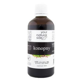 nierafinowany olej konopny