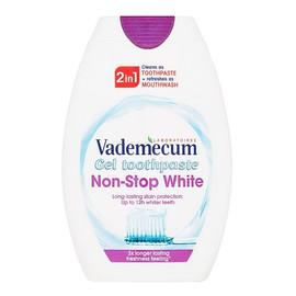 2in1 toothpaste&mouthwash non-stop white pasta do zębów i płyn do płukania jamy ustnej