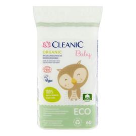 Płatki dla niemowląt i dzieci Organic biodegradowalne 1 op. 60 szt.