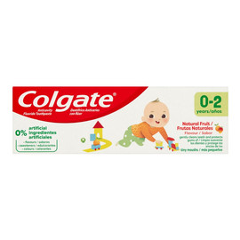 Pasta do zębów dla dzieci Naturalnie Owocowy Smak (0-2 lat)